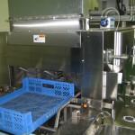 製品コンテナ洗浄機