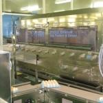 洗卵・乾燥ブラシ<br>自動泡洗浄機